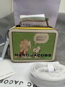 Genuine Marc Jacobs  PEANUTS® X The Mini Box Bag women crossbody bag offer