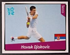 Novak Djokovic Panini London Olympics 2012 sticker #390