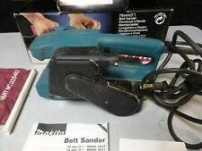Makita 9910 Belt Sander in Original Box