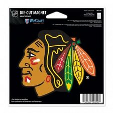 NHL 4 inch Auto Magnet Chicago Blackhawks Current Logo