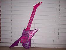 Winx Club Stella Rock Star Toy Guitar Lights Up Plays Music