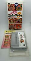 Parlor! 3 Video Game for Nintendo Super Famicom NTSC-J BOXED TESTED