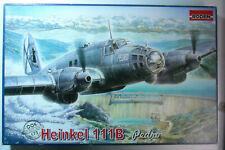 """Roden (Ukraine) Heinkel He 111B """"Pedro"""" medium bomber sealed kit 1:72 scale"""