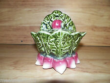 Olfaire Caldal Portugal Pottery Cabbage Salt Box