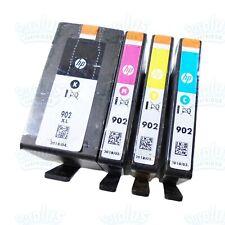 2020 4pk Genuine HP 902XL Black & 902 Color OfficeJet 6960 6965 6968 6978 6970