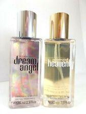 2 Victoria's Secret Fragrance Mist Perfume Spray Dream Angel & Heavenly Set Lot