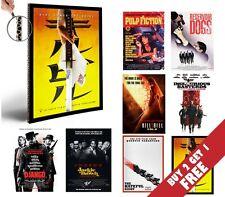 Quentin Tarantino All Movies Poster Options A4 Photo Print Film Home Decor Art