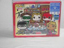 Big Bang Theory T-SHIRT Funko Pop Tees BAZINGA Justice League DC Comics SIZE S