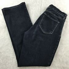 NYDJ Not Your Daughters Jeans Bootcut Size 10 Stretch Tummy Tuck Dark Wash 30x32