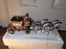 Dept. 56 Dickens Village HOLIDAY COACH Gently Used in Box READ LISTING