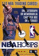 2015/16 Panini Hoops Basketball Factory Sealed Blaster Box-AUTOGRAPH/MEMORABILIA