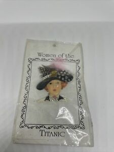 Vintage Marcella Dale Women Of The Titanic Pin