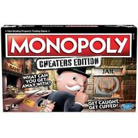 Hasbro Monopoly Cheaters Edition Money Board Game, Cheat To Get Ahead & Win 8 +