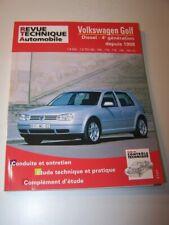 FZ Revue technique Volkswagen Golf IV 4 Diesel 1.9 SDi/TDi 90 100 110 115 130 ch