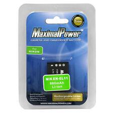 For NIKON EN-EL11 Camera Battery PENTAX D-LI78 OLYMPUS Li-60B RICOH DB-80 880mAh