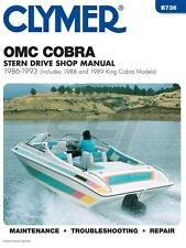 Clymer OMC Cobra Shop Manual 1986-1993