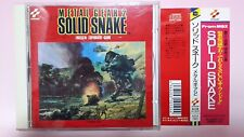 Metal Gear 2 Solid Snake MSX CD Soundtrack Japan import with sticker