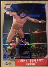 2008 TOPPS WWE HERITAGE CHROME JIMMY SUPERFLY SNUKA REFRACTOR