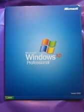 MICROSOFT WINDOWS XP PROFESSIONAL  UPGRADE RETAIL 2002 VERSION WITH PRODUCT KEY