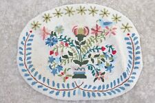 """CLAIRE MURRAY FLOWER VASE OVAL WOOL HOOKED RUG 24"""" X 31"""""""