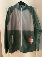 The North Face Mens Silver Pine Green Take Back Retro Track Jacket Size XXL 2XL