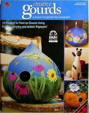 """Creative Gourds"" Plaid Decorative Tole Painting Book w/ Fun Year Round Designs"