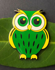 Owl  Geocoin  - Saxonia,  personal Edition