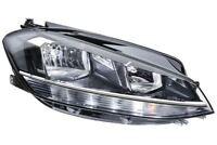 VW Golf MK7 17- LED DRL Headlight Headlamp Right Driver Off Side O/S OEM Hella