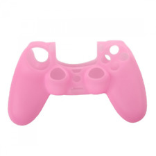 4Ginspire Soft Silicone Gel Protective Skin Cover Case for PS4 Controller Pink