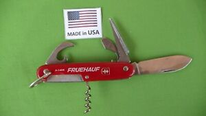 Colonial made in the USA Camp Multi-Blade knife #A-1405