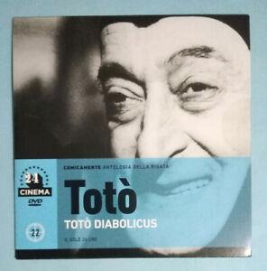 DVD Film Ita TOTO' Diabolicus 22 PROMO sole 24 ore antologia no vhs cd lp mc(T1)