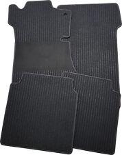 Fußmatten für Mercedes B-Klasse W247 ab 2.19 in Rips schwarz mit Trittschutz