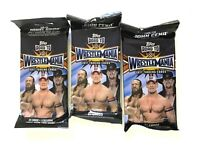 2017 TOPPS WWE ROAD TO WRESTLEMANIA FAT PACKS ( 3 PACK LOT )