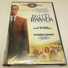 New listing Hotel Rwanda True Story Dvd Movie Don Cheadle Sophie Okonedo 2005 Sealed