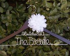 Bridenew Wedding Shower Gift, Personalized Wedding Hanger, Custom Bridal Hanger