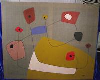 """Michael Feicht, geb.1959, """"Zuversicht"""", abstrakte Komposition, Ölgemälde"""