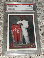 2003 Topps Basketball LeBron James ROOKIE RC #221 PSA 10 GEM MINT
