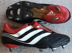 2001 ADIDAS PREDATOR PRECISION SG FOOTBALL BOOTS UK 12