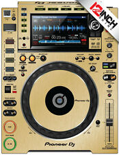 Pioneer CDJ-2000NXS2 Skin (PAIR) brushed gold