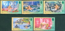 GB - ALDERNEY 2005 H.C.Andersen Bicentenary/The Little Mermaid SG A248-A252 MNH