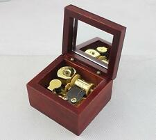 NEW Windup Sankyo Wooden Music Box Harry Potter Hedwig's Theme Gift