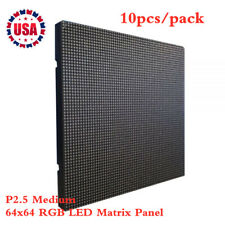 US Stock 10pcs/pack Indoor LED Display P2.5 Medium 64x64 RGB LED Matrix Panel