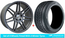 Aluminium X3 Winter Wheels with Tyres