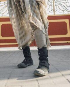 Fugu Maguro Black Boots