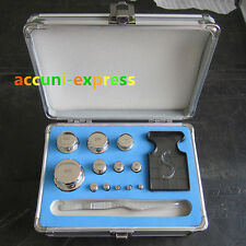 F1 Grade 1mg-500g Precision Stainless Steel Scale Calibration Weight Kit Set ia