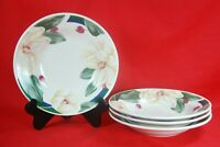 "WSP SAVANNAH GROVE Magnolias Soup Bowls (Set of 4) 8"""