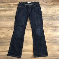 Levi's 515 Boot Cut Women's Dark Wash Blue Jeans Size 6