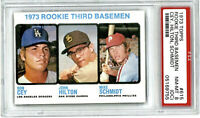 1973 Topps Mike Schmidt ROOKIE RC #615 PSA 8 NM-MT HOF Philadelphia Phillies Cey