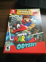 Super Mario Odyssey with Traveller's Guide RARE (Nintendo Switch)