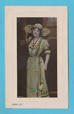 ACTRESS  -  ROTARY  PHOTOGRAPHIC  POSTCARD  -  ISABEL  JAY  -  1909